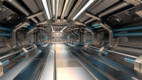 Sci Fi Modular Corridor BASIC EDITION