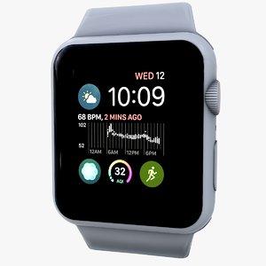 apple watch 3D
