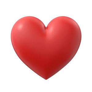3D heart simple