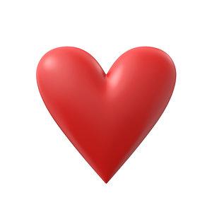 3D simple heart