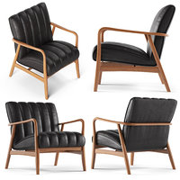 3D coo wooden armchair wood