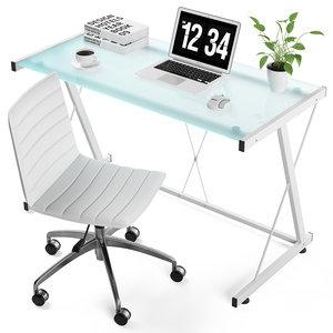 mecor computer chair 3D model