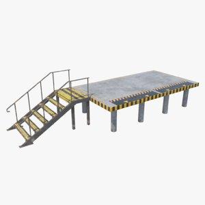 3D loading platform