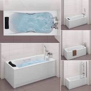 set baths roca 31 3D model