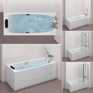 set baths roca 32 3D