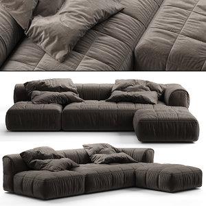 arflex strips sofa 3D model