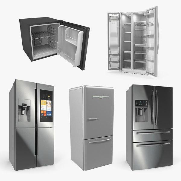 refrigerators 2 3D model
