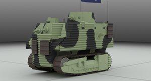 vehicle bob semple tank 3D