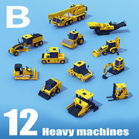 Heavy Machinery MEDIUM Pack B