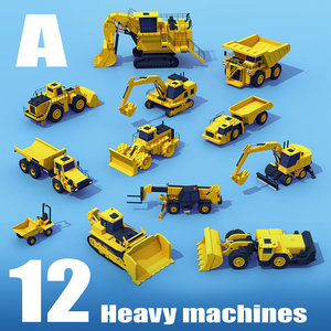 3D machinery heavy