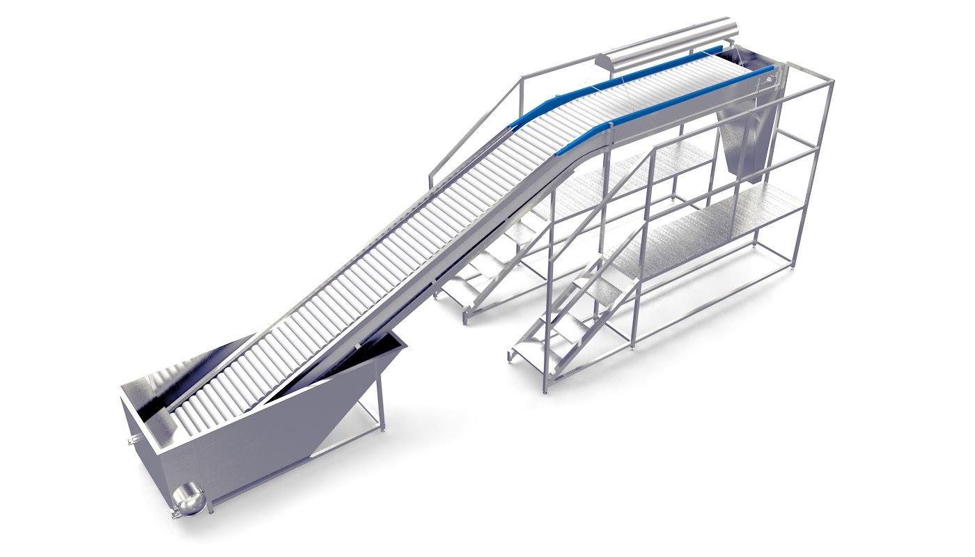 plastic modular inspection 3D model