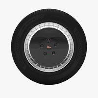 knight rider wheel 3D model