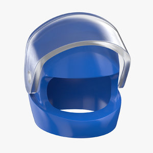 lego helmet 3D model