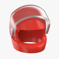 lego astronaut helmet 01 3D model