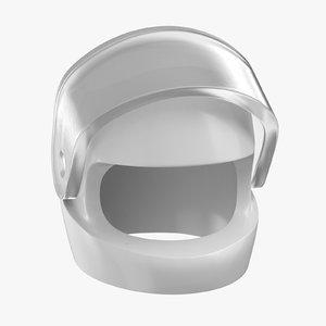 3D model lego astronaut helmet 01