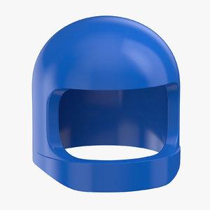 lego astronaut helmet 02 3D