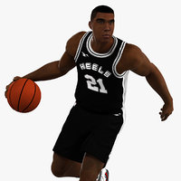 3D model animations player