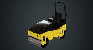 3D road roller