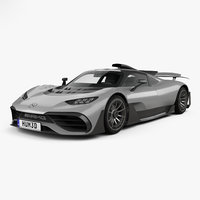 3D model mercedes-amg project amg