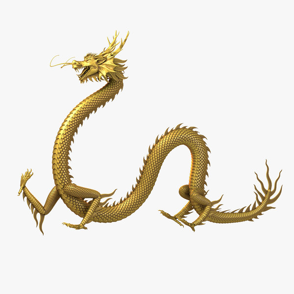 dragon chinese 3D
