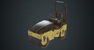 3D road roller 1c