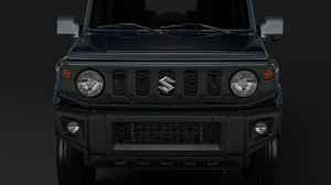 suzuki jimny xl 2019 3D model