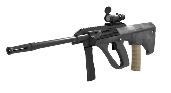 scope steyr aug a3 rifle model