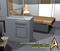 U.S.S. Enterprise - Crewquarter