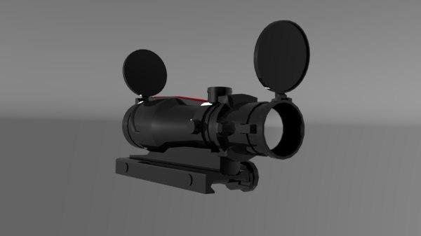 3D acog sight model