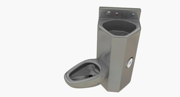 Reaic Prison Toilet Sink Model