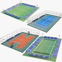 Four Sport Courts Collection