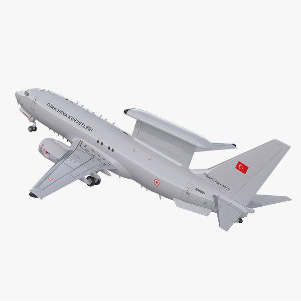 boeing 737 7es peace 3D
