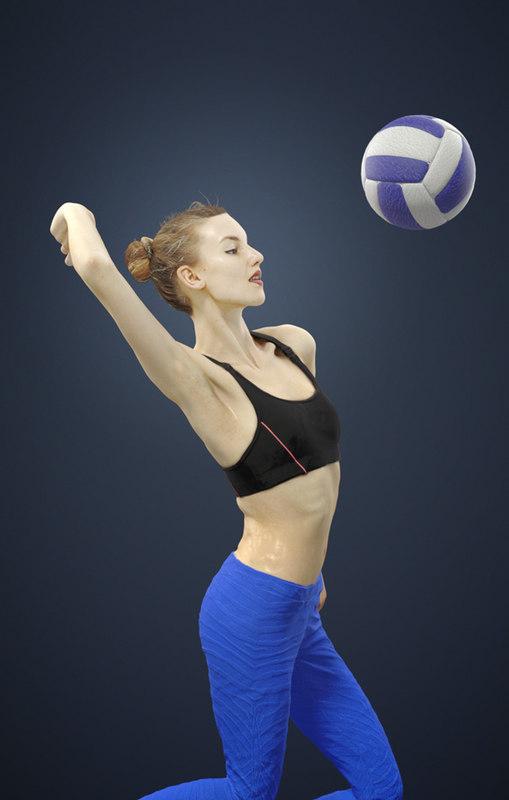 volleyball smashing model