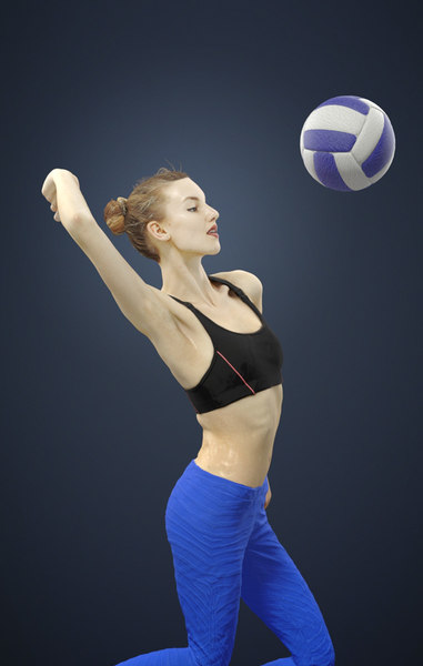 volleyball smashing model