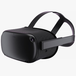 3D oculus quest vr 2019 model