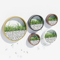 3D wall planters model