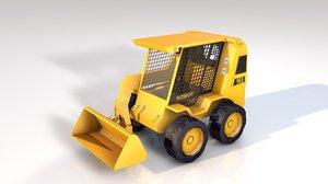 compact wheel excavator jbc model