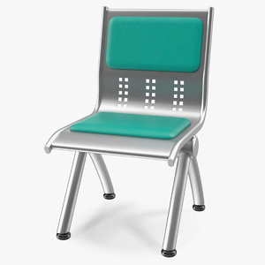 waiting room seat 3D model