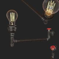 3D red faucet loft1482w-6 loft