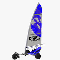 yachting sailling kart model