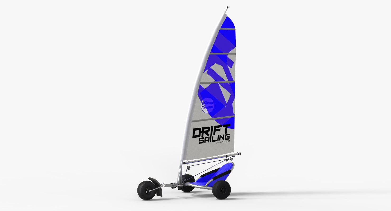 yachting sailling kart model