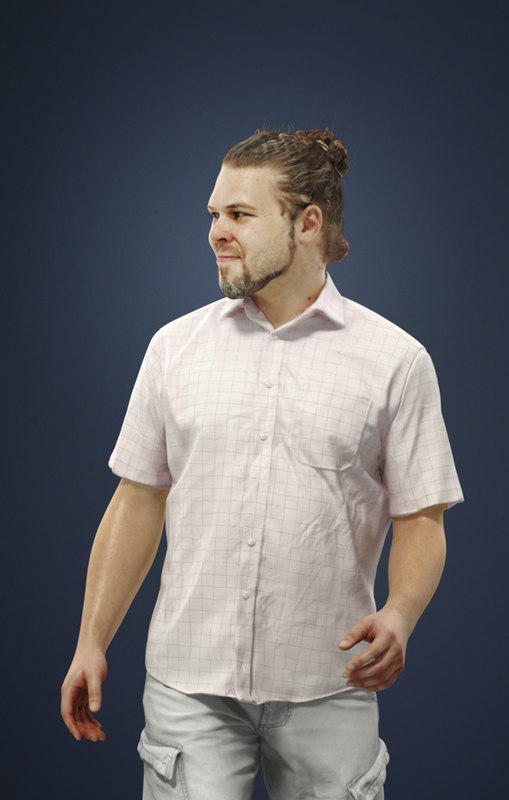 3D characters casual model