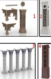 islamic columns model