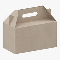 packaging box 01 3D model