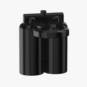 lego astronaut oxygen tank 3D model