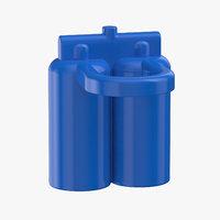 lego astronaut oxygen tank 3D