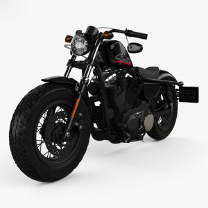 harley-davidson xl 3D model