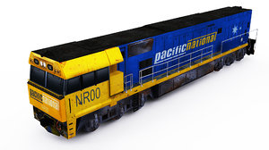 3D australian nr locomotive model