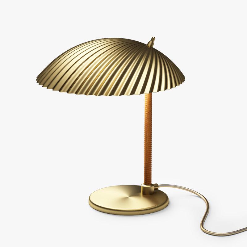 3D gubi 5321 table lamp model