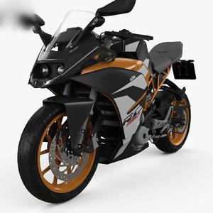 ktm 390 rc 3D model
